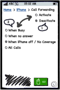 Conditional Call divert/forward on iPhone  Its here